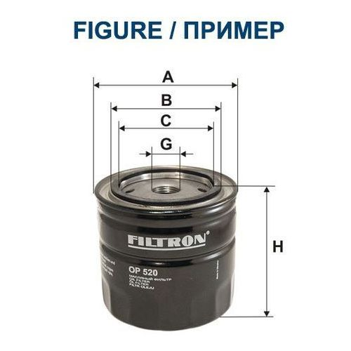 Filtron 642/3 op filtr oleju renault laguna 3,0dci 08-/nissan navara pathfinder (5904608046420)