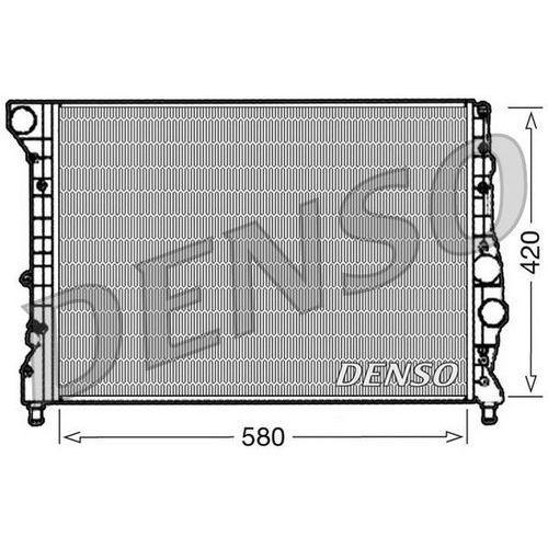 Chłodnica, układ chłodzenia silnika DENSO DRM01001, DRM01001