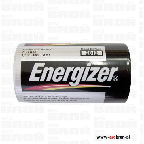 Bateria Energizer R20 z kategorii paralizatory