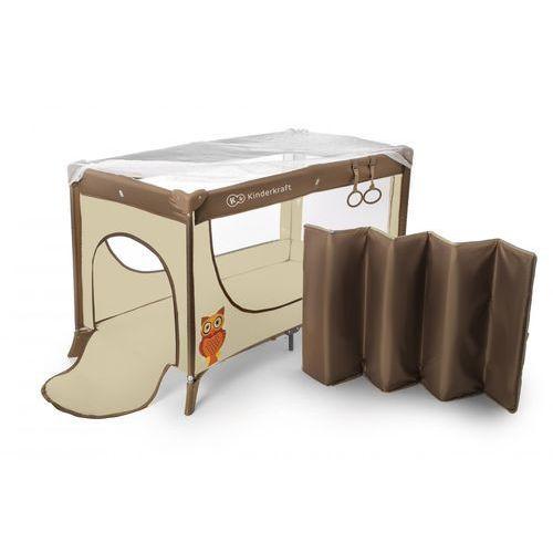 Łóżeczko turystyczne Joy Standard beżowy - KinderKraft (5902021215959)