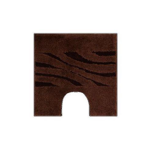 Dywanik na WC Grund THUNI brązowy, 55 x 55 cm, - oferta [45fa682e8515a51a]