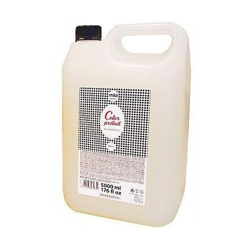 color protect silk shampoo, szampon do farbowanych włosów chroniący kolor 5000ml marki Mila