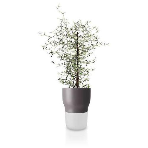 Doniczka samopodlewająca, Nordic Grey, 13 cm - Eva Solo (5706631162982)