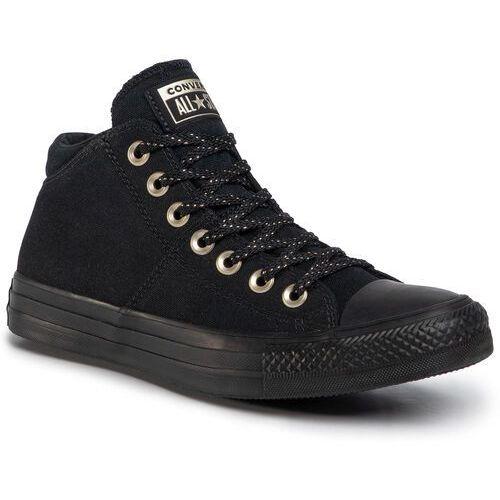 Trampki - ctas madison mid 565228c black/black/gold, Converse, 36-40