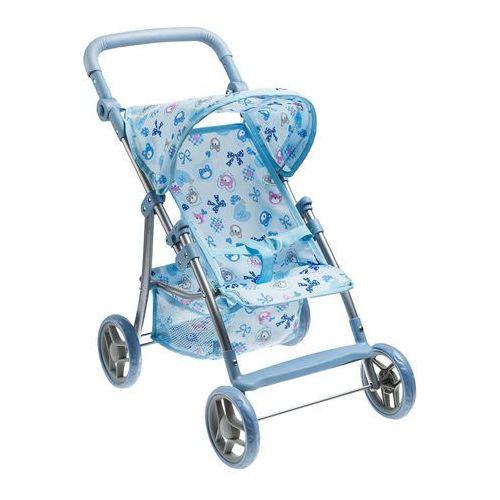 Smiki, wózek spacerowy dla lalek, niebieski, kup u jednego z partnerów