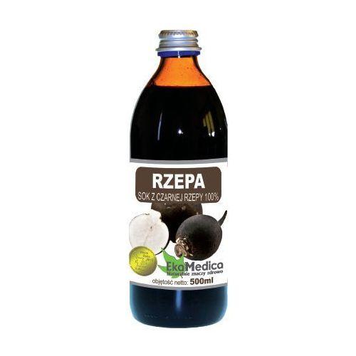 Eka medica czarna rzepa 100% sok z czarnej rzepy 500ml marki Eko medica