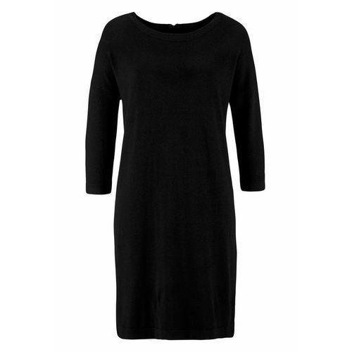 Vero Moda VMGLORY Sukienka dzianinowa black, 10137034