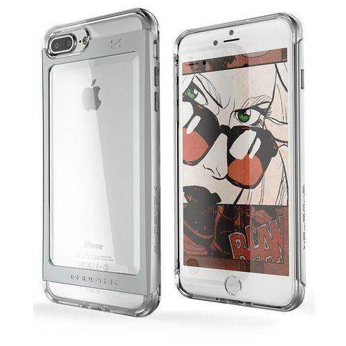 Etui Ghostek Cloak 2 Apple iPhone 8 Plus/7 Plus Silver + Szkło, kolor szary