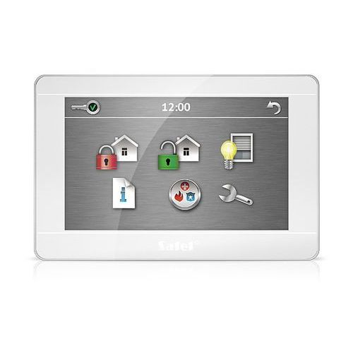 """Satel Int-tsh-wsw manipulator graficzny z ekranem dotykowym 7"""" biały"""