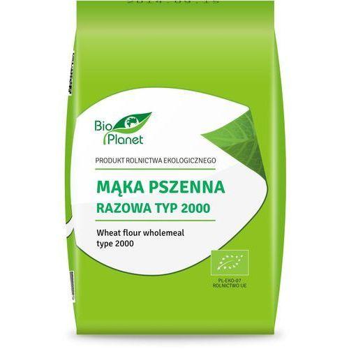 Bio Planet: mąka pszenna razowa typ 2000 BIO - 1 kg (5907814665607)