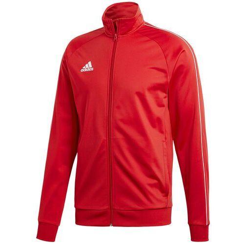 Adidas Bluza męska core 18 polyester jacket czerwona cv3565