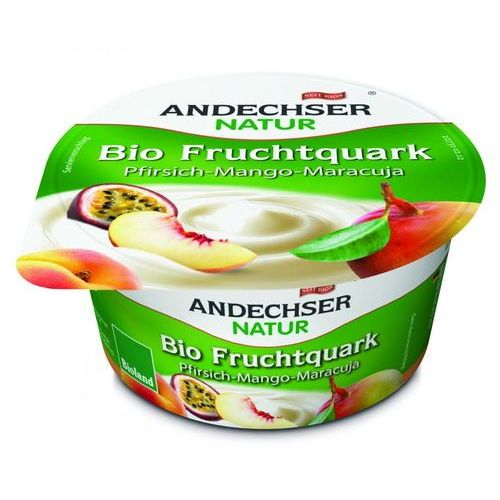 Twarożek brzoskwinia mango marakuja 20% BIO 150 g Andechser Natur (4104060028427)