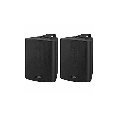 MONACOR MKA-50SET/SW Para Dwudrożnych głośników (4007754241907)