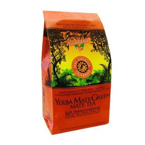 200g yerba mate green mas energia guarana marki Natural vitality - mate green