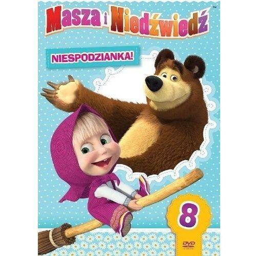 Oleg kuzovkov Masza i niedźwiedź, część 8: niespodzianka! (płyta dvd)