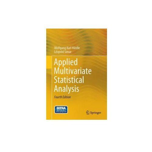 Applied Multivariate Statistical Analysis (9783662451700)