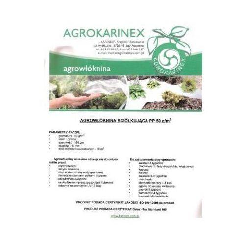 Agrowółknina ściółkujaca PP 50 g/m2 czarna 1,6 x 10 mb. Paczka o wadze 0,9 kg. - produkt z kategorii- folie i agrowłókniny