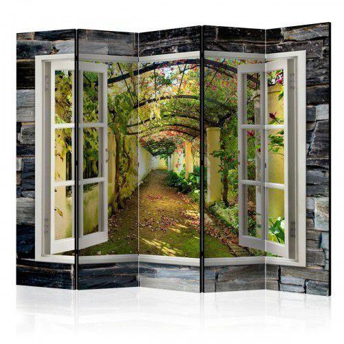 Artgeist Parawan 5-częściowy - tajemniczy ogród ii [room dividers]