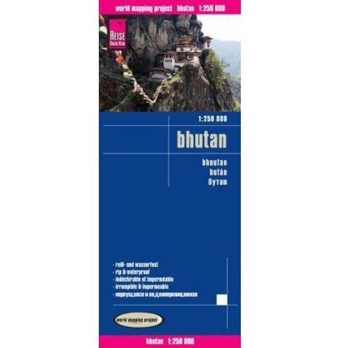 World Mapping Project Reise Know-How Landkarte Bhutan (1:250.000). Bhoutan / Bután (9783831773336)