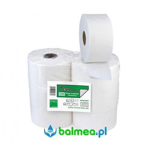 Balmea Papier toaletowy biały w rolce jumbo 18,5 cm