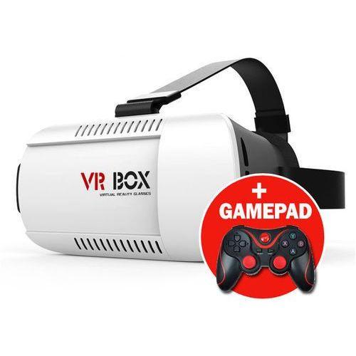 Okulary 3D VR BOX Virtual Reality Oculus Cardboard + GAMEPAD