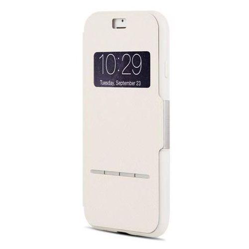 Moshi sensecover - etui z klapk dotykow + folia na ekran iphone 7 (stone white) odbiór osobisty w ponad 40 miastach lub kurier 24h