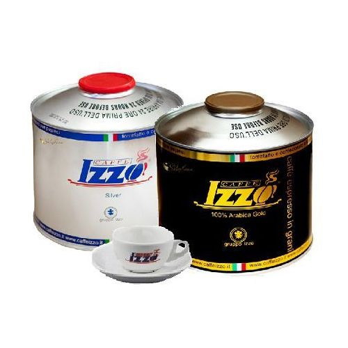 Zestaw Izzo Gold 1 kg i Izzo Silver 1 kg + filiż. 70 ml
