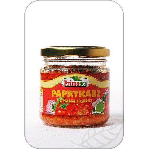 Paprykarz z kaszą jaglaną bio marki Primavika