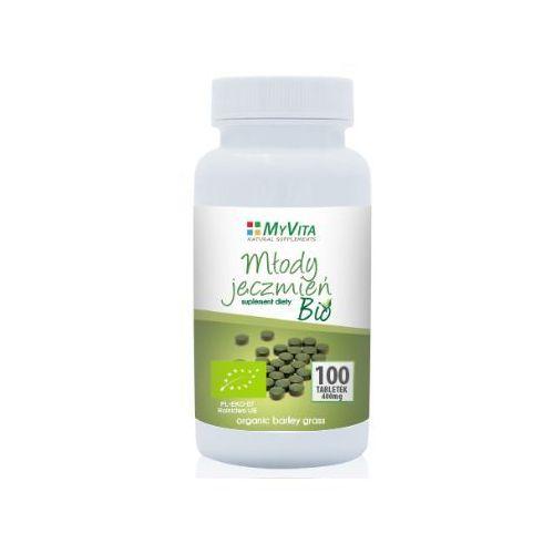 Młody jęczmień Bio tabletki 400mg - 100tab