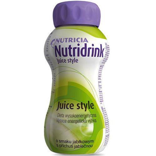 Nutricia nutridrink juice style - jabłko - dieta beztłuszczowa - 200ml