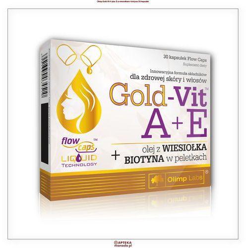 Olimp Gold-Vit A+E z wiesiołkiem i biotyną 30 kapsułek (5901330034510)