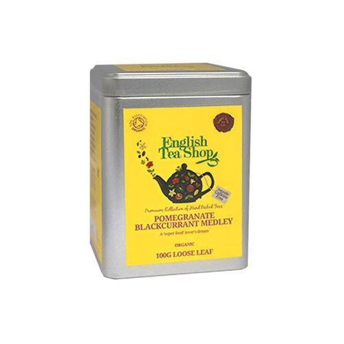 Ets pomegranate blackcurrant medeley 100 g puszka marki English tea shop