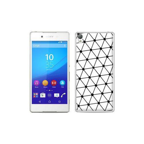 etuo Fantastic Case - Sony Xperia Z3+ - etui na telefon Fantastic Case - trójkątna siatka, ETSN197FNTCFC024000