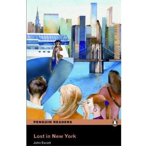 Lost in New York + MP3. Penguin Readers, oprawa miękka