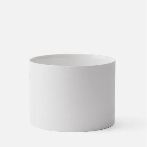 Donica Cylindrical S, biała - Menu (5709262979950)