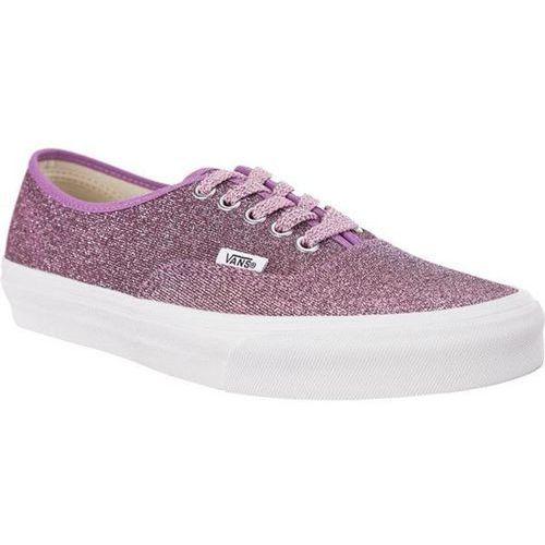 authentic u3u lurex glitter pink true white - buty sneakersy marki Vans