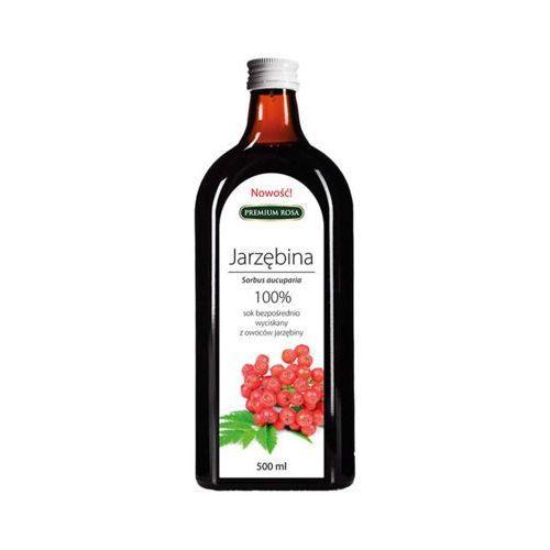 500ml sok jarzębina 100% tłoczony na zimno marki Premium rosa