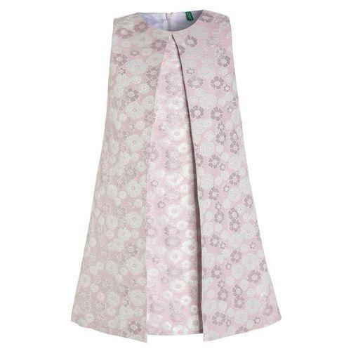 Benetton Sukienka koktajlowa rose, 4C3P5V7I0