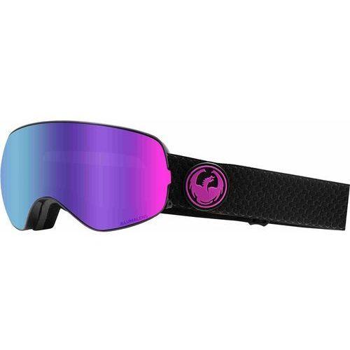gogle snowboardowe DRAGON - Dr X2S 2 Split Llpurpleion+Llamber (003) rozmiar: OS