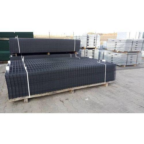 Panel ogrodzeniowy grafitowy fi4 1230x2500 mm marki Marketstal.pl - sprzedawca