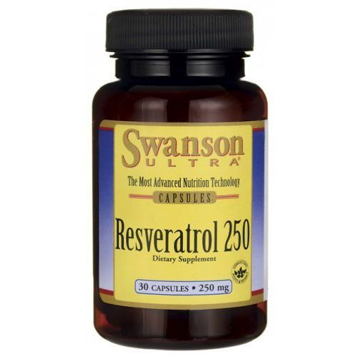 Resweratrol korzeń rdest japoński 250mg Resveratrol 30 kapsułek SWANSON