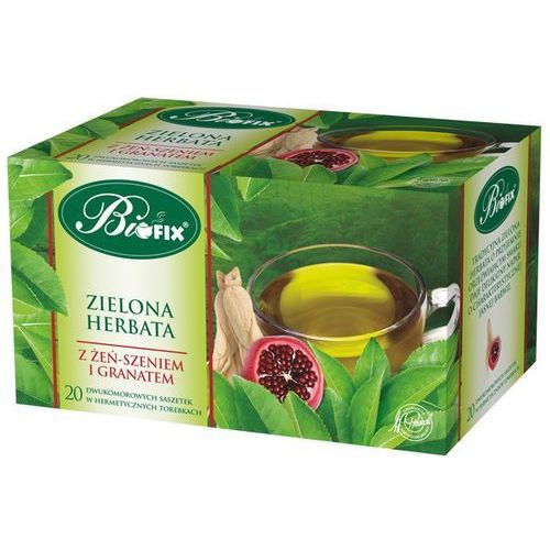 Bifix Herbata biofix zielona żeń-szeń/gra a20 (5901483101251)