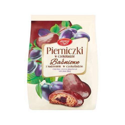 SKAWA 150g Pierniki Baśniowe Śliwkowe w czekoladzie
