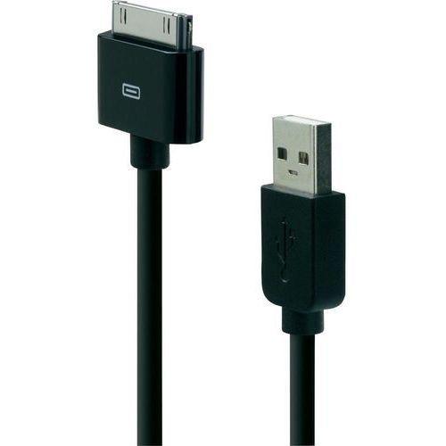 Kabel USB 2.0, Belkin F8J043bt04-BLK, do iPoda, iPhone'a, iPada, 1,2 m, czarny - sprawdź w wybranym sklepie