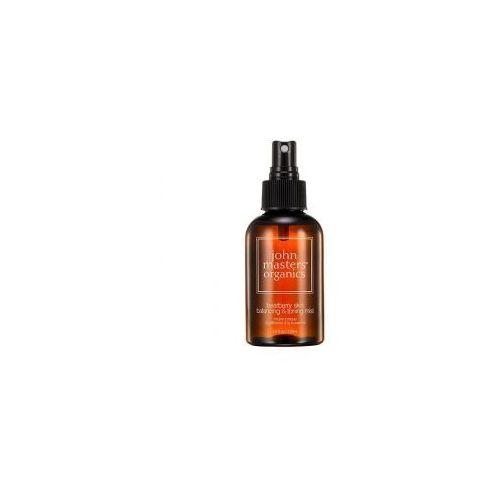 , regulujący tonik do mycia twarzy z mącznicy lekarskiej, 125ml marki John masters organics