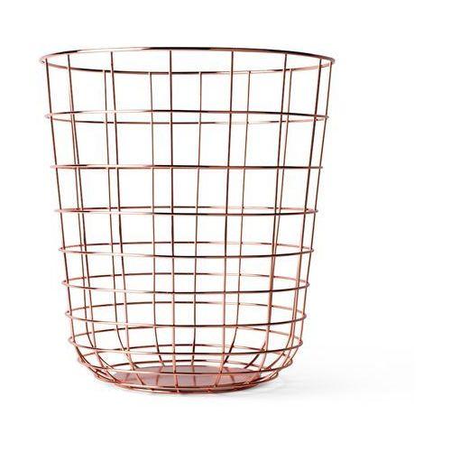 Kosz druciany Menu Wire Bin copper - oferta [25ceea04c142f3c2]