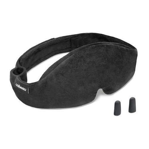 Cabeau sleep mask midnight magic opaska na oczy do spania w podróży / czarna