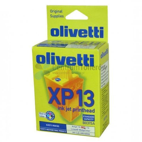 Olivetti oryginalny ink B0315, color, 350s, Olivetti ArtJet 12, Jet-Lab 600, Copy-Lab 200, XP13