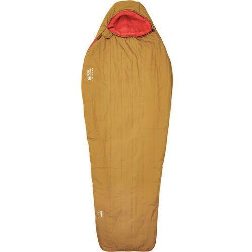 Mountain Hardwear Hotbed Ember Śpiwór pomarańczowy/czerwony lewe 2017 Śpiwory syntetyczne