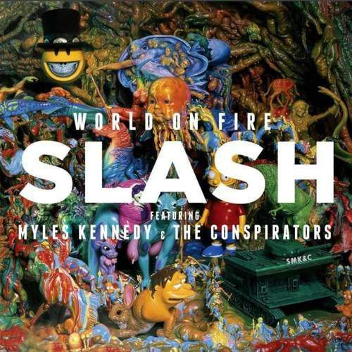 World On Fire [blue & Yellow] - Slash (Płyta winylowa)